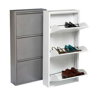 3 Drawer Shoe Cabinet Closet Shoe Storage Shoe Storage Door