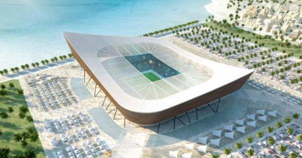 Qatar S Beautiful Stadium Designs For World Cup 2022 Stadium Design Qatar World Cup Stadiums Stadium Architecture