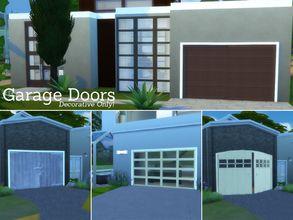 Tsr Download History Sims 4 Houses Garage Doors Garage Door Decor