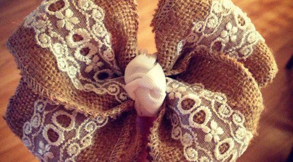 Flower girl bow