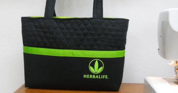 Herbalife Gym Bag / Herbalife Tote Bag / Black and Green ...