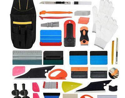 Sponsored Ebay Pouch Wrap Vinyl Squeegee Magnet Razor Scraper Car Window Tint Tool Bag Decals In 2020 Vinyl Wrap Car Car Wrap Tool Bag