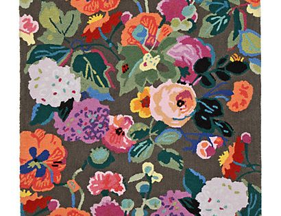 Gloria's Garden Rug, Rectangle luxury house design interior decorating room designs home