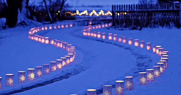 Holiday light ideas