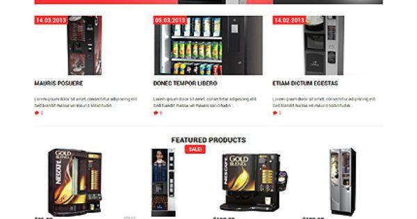 Template 49470 Vending Machines Responsive Woocommerce