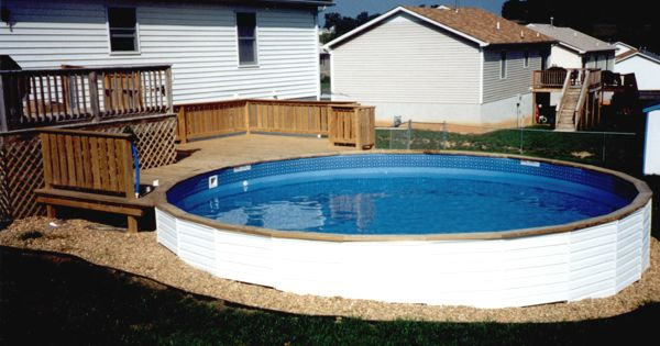 Medallion st croix freedom48 can go half in ground above ground pools discount above for Cheap swimming pools above ground