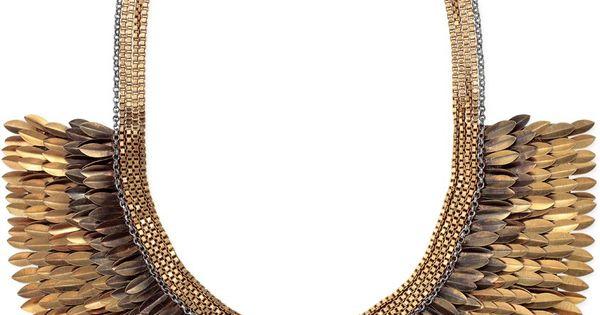 stella & dot pegasus necklace