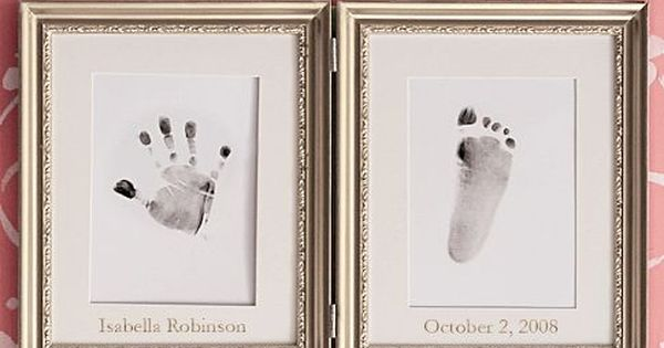 Cute idea for baby prints