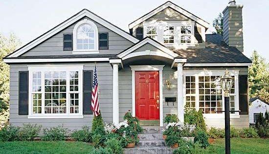 Front Door Colors With Black Shutters Light Blue