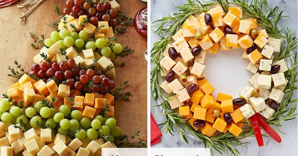 Christmas Tree / Wreath...fruit/cheese Trays