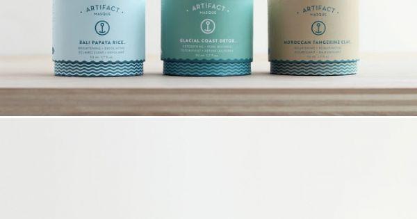 #masque Design packaging