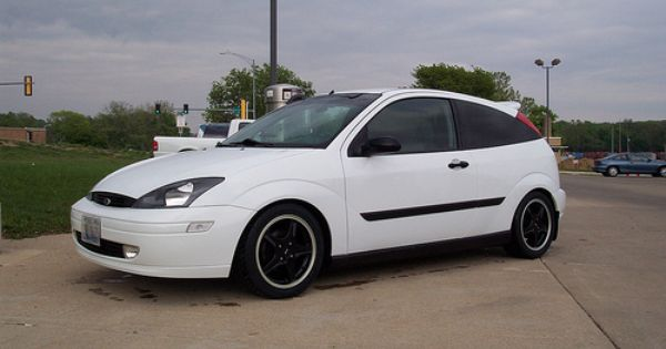 Svt Focus With White Rims Google Search Ford Focus Ford High Performance