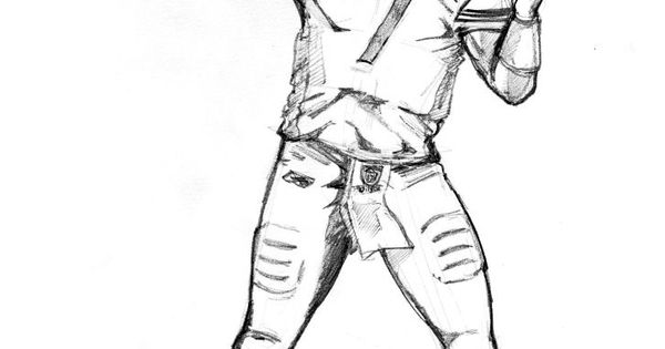 How To Draw Football Players Football Player Coloring