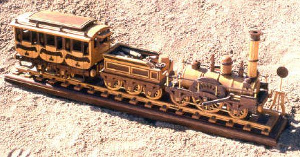Plan Toys Train Joys : Steam locomotive woodworking plans train plan railroad