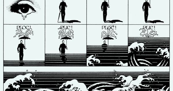 Philippe Caza Les Monstres du Placard, 1970