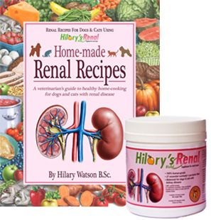 Hilary S Blend Renal Cookbook And Supplement For Dogs And Cats