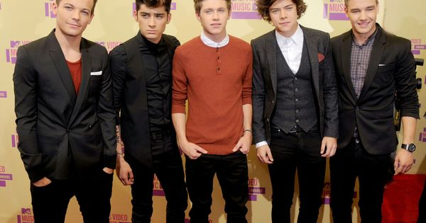One Direction at the 2012 @MTV Music Video Awards hotties