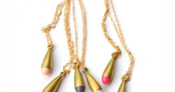 Dripping Color - Eams Drop Necklace - inaccessory