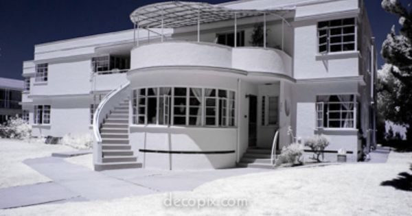 Art Deco House A Style Of Decorative Art Made In The