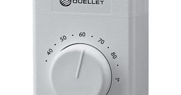 Ouellet Wall Mount Thermostat Double Pole Model Otl102f By