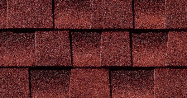 Best Patriot Red Gaf Timberline Roof Shingles Swatch 400 x 300