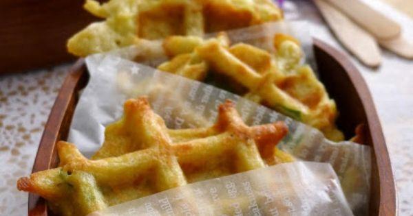 Gaufres de pommes de terre au gruy re recettes pour mon - C est au programme recettes de cuisine ...