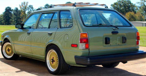 Integra Swapped Rutledge Wood S 1983 Honda Civic Wagon Honda