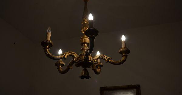 lampadario antico : antico lampadario cose un p? vecchiotte Pinterest