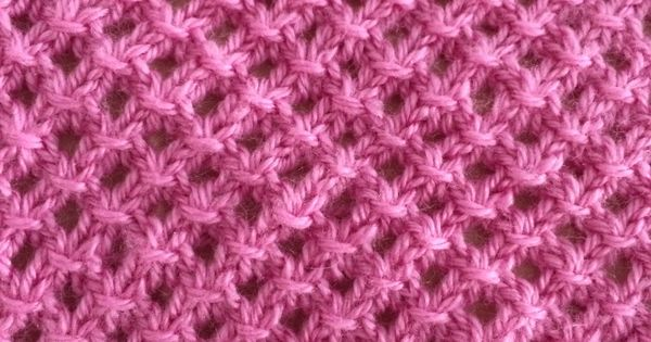 Hatties Baby Blanket. Victorias version of the Irish Mesh stitch ...