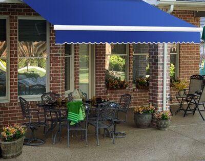 Awntech Destin Fabric Standard Patio Awning Retractable Awning Patio Outdoor Shade