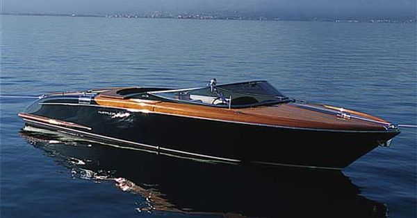 The Riva Aquarama Speed Boat From Ferretti Yachts In Italy
