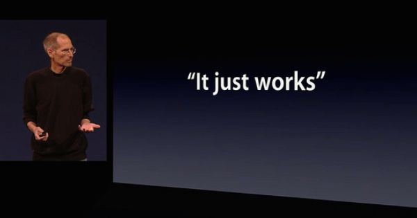 2 Of 2 Apple S It Just Works Campaign Attitude And Behavior Objectives Maintain Positive Feedback From Apple Users From Easy To Use I Osx Slogan It Works