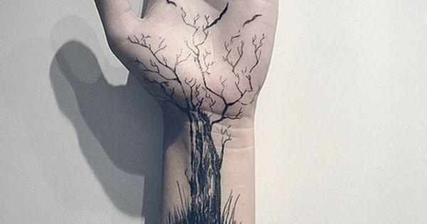 I just love tree tattoos
