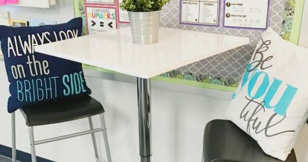 Collaborative Classroom Seating : Flexible seating in the classroom so cute and