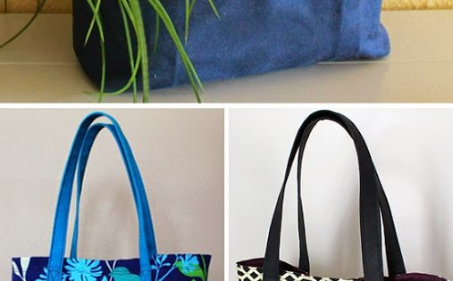 Great sewing tutorial for a classic lined canvas tote. | The Inspired