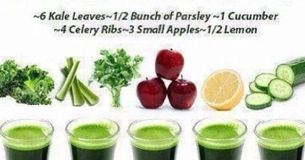 Liver Cleanse Juice Recipe 6 Kale Leaves Bunch Of