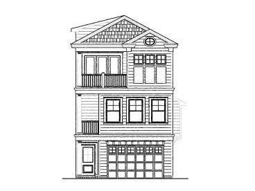 Narrow Lot House Plans Narrow Lot House Plans Narrow Lot House Beach House Plans