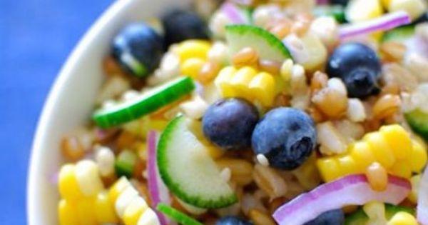 Grain salad, Picnic foods and Grains on Pinterest