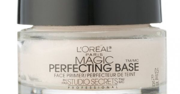 L Oreal Paris Magic Perfecting Base Face Primer By Studio Secrets Professional 0 50 Oz Best Drugstore Primer Makeup Primer Face Primer