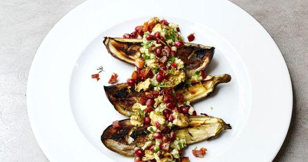 Pomegranates, Vinaigrette and Eggplants on Pinterest