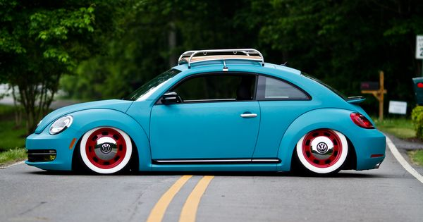 Retro Modern Allie Amp Wesley S Vw New Beetle Vehicles