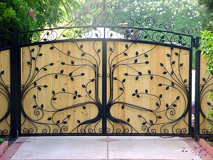 Factory Direct Custom Wrought Iron Gates In 2020 Iron Garden Gates Wrought Iron Gates Wrought Iron Gate Designs