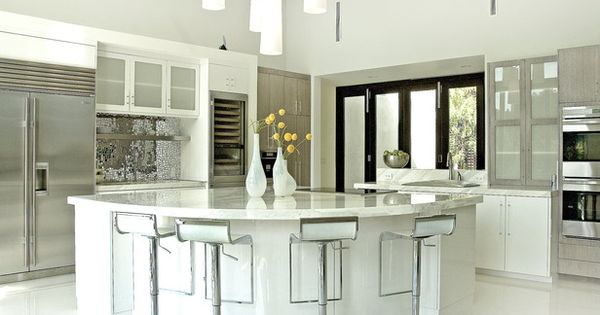 Modern Kitchen :: The Tough Life of Contemporary Kitchen Countertops