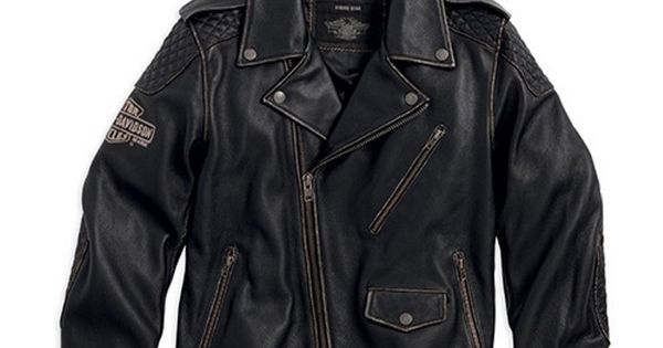 harley-davidson-men-s-black-label-vintage-leather-biker ...
