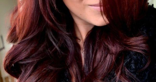 Hair Color John Frieda 4r Dark Red Brown Would Look