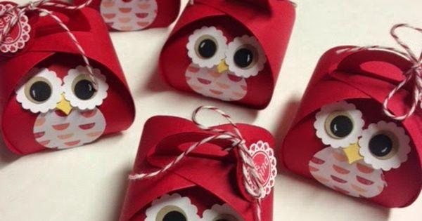 Inking For Others: Valentine Treats Curvey keepsake box die