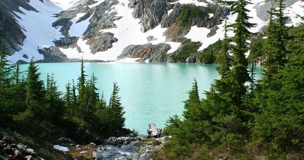 Beautiful Jade Lake in the Necklace Valley, Alpine Lakes Wilderness, WA. We