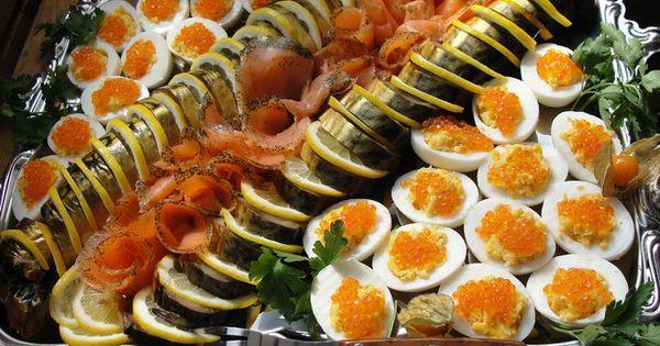 Красивые праздничные закуски с фото
