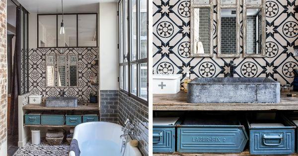 E magdeco magazine de d coration un loft parisien lov for Magazine de decoration interieure