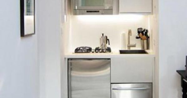Studios, tiny kitchens and kitchens on pinterest
